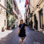 Alicia Wood, Dallas Lifestyle Expert, Dallas Fashion Blogger, What I Wore in Italy, What to Wear in Italy, Michael Kors Navy Wrap Dress
