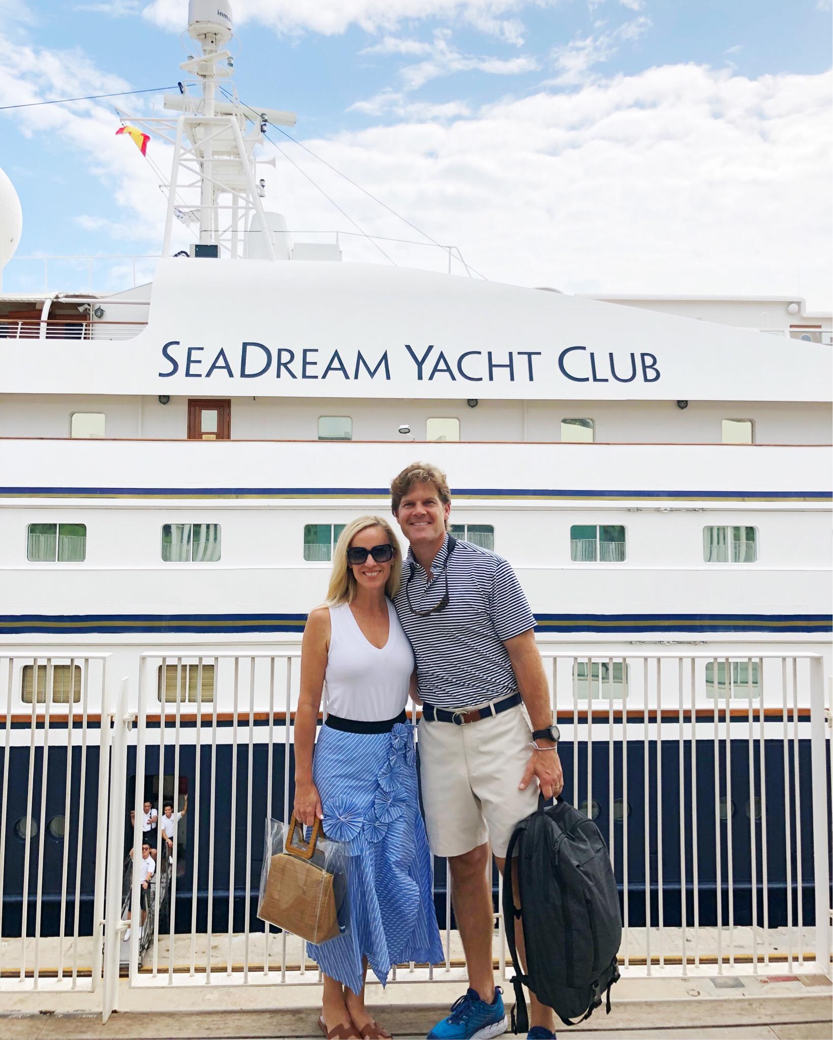 Alicia Wood, Dallas Lifestyle Blogger, Dallas Travel Blogger, Dallas Fashion Blogger, SeaDream Yacht Club, Front Door Fashion