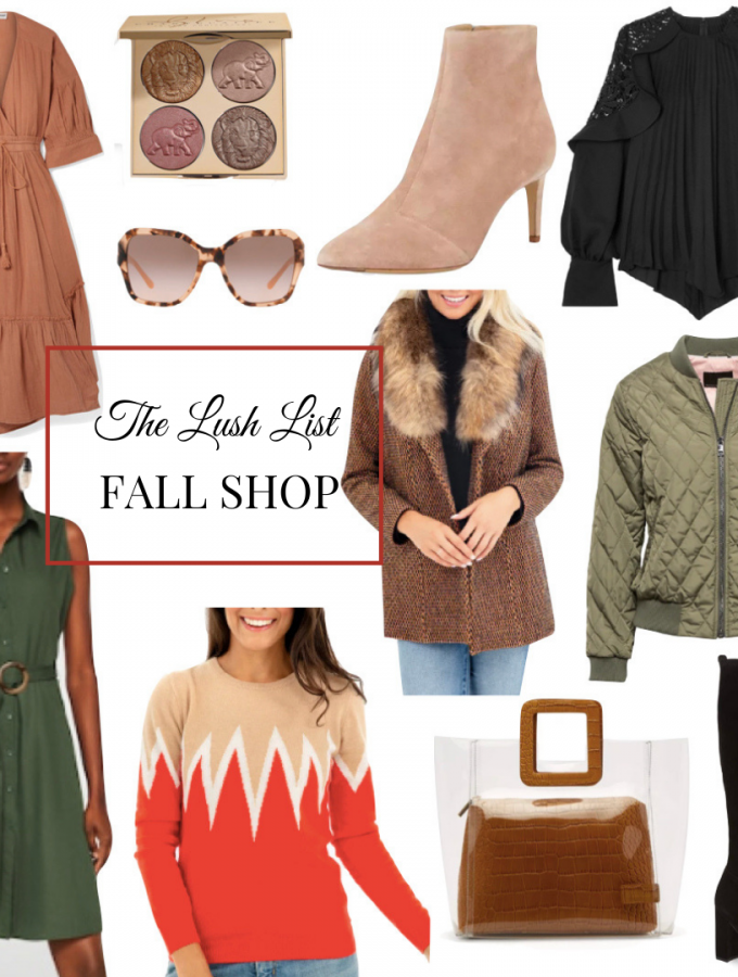 The Lush List Fall Shop