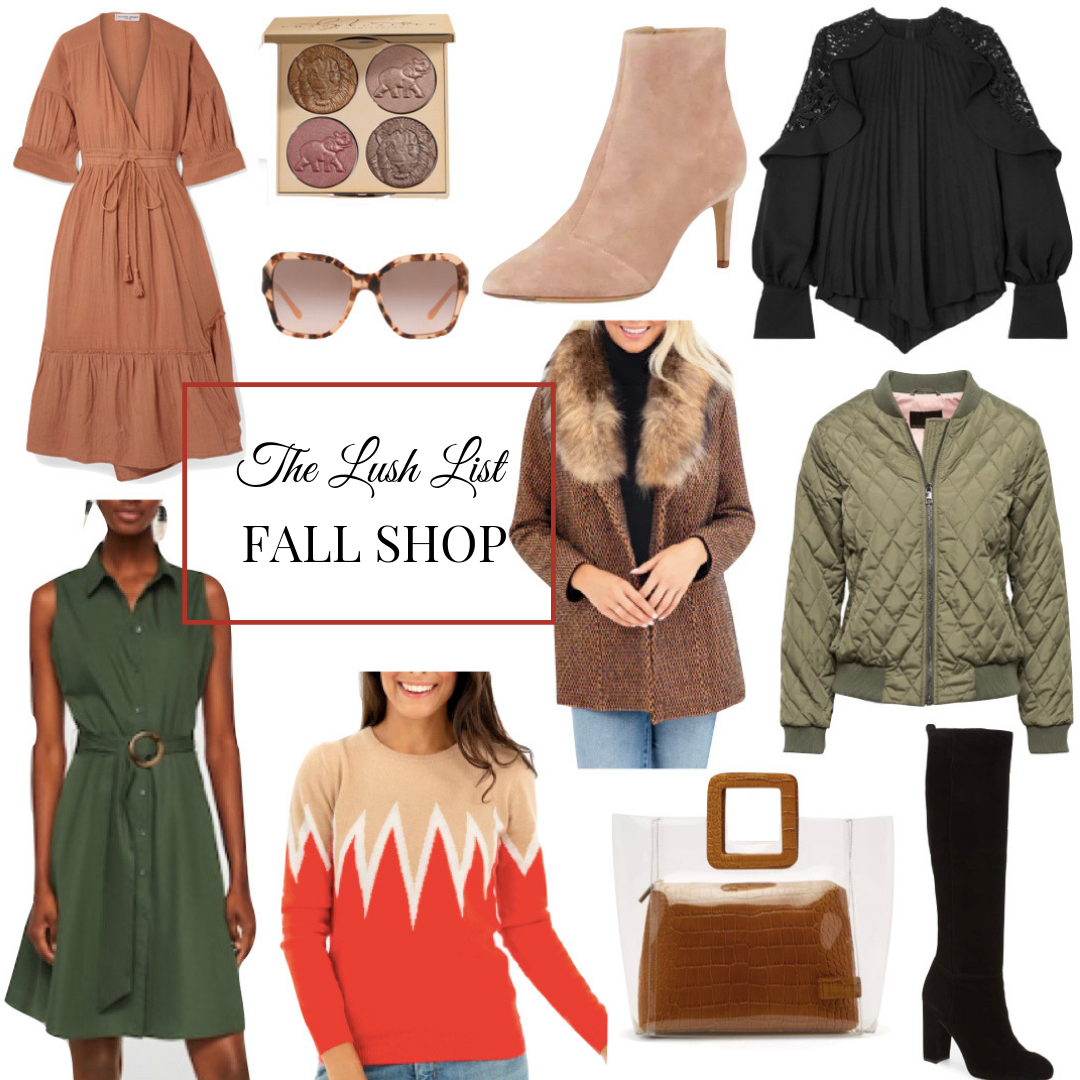 The Lush List Fall Shop | Fall Style for 2018