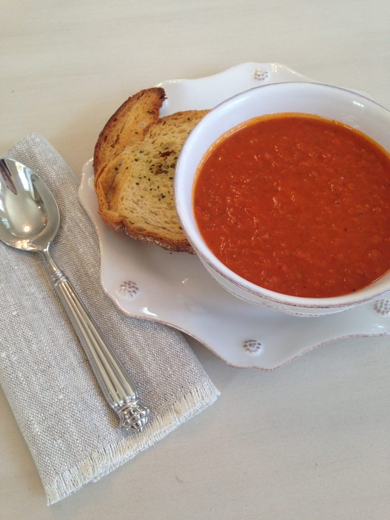 City Cafe's Tomato Soup Recipe part of My Favorite Five Fall Recipes