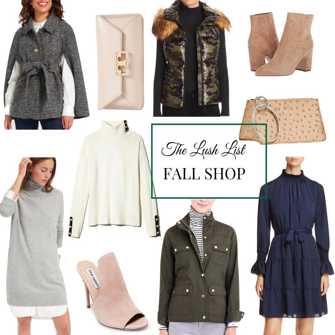 The Lush List Fall Shop Update
