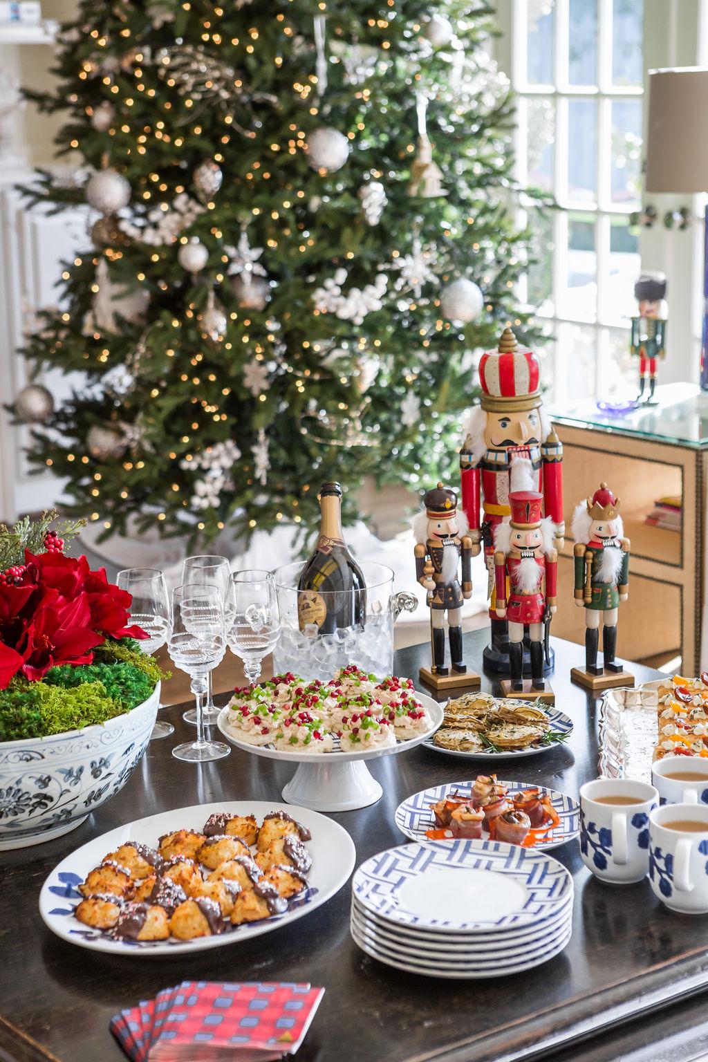 Christmas Nutcracker Display, Holiday Tea