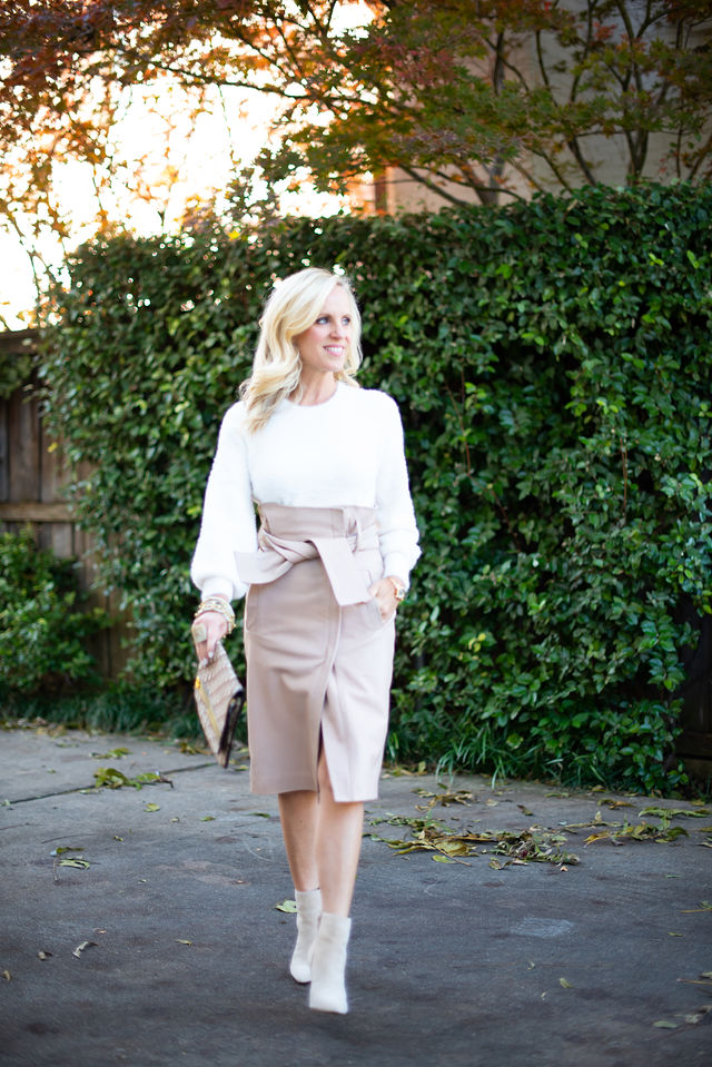 Beautiful Winter Style   Luxe Leather from Clotheshorse Anonymous
