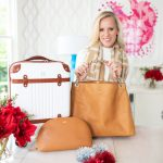 Beautiful Travel Gifts from Mark and Graham, Best Hardside Spinner Suitcase, Monogrammed Gifts, Custom Handbag