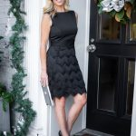 Alicia Wood, Dallas Lifestyle Blogger, Dallas Fashion Blogger, Best Black Friday Deals, Best Black Friday Deals, Sail to Sable Black Fringe Dress, Black Fringe Sheath Dress, Benincasa Milano Heels, Tory Burch Silver Clutch, Tory Burch Reva Bangle Watch