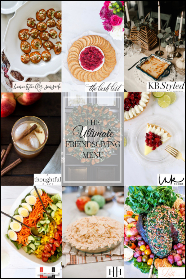 The Ultimate Friendsgiving Menu