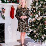 Alicia Wood, Dallas Lifestyle Expert, Dallas Fashion Blogger, What to Wear New Year's Eve, Veronica Beard Robin Dress, Juliska Champagne Flutes