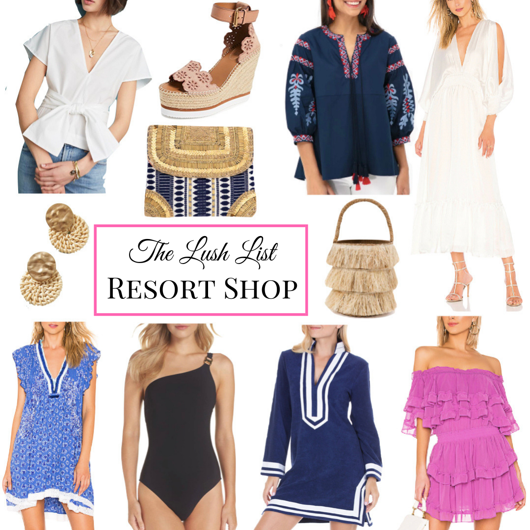 Wanderlust Wednesday: The Resort Shop | Warm Winter Getaway Style