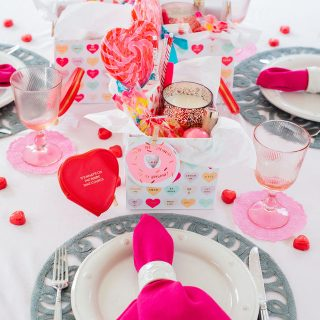Valentine's Day Breakfast Tablescape, Alicia Wood, Dallas Lifestyle Expert, Dallas Entertaining Expert, Dallas Fashion Blogger