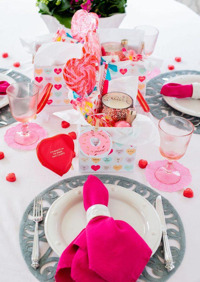 Valentine's Day Breakfast Tablescape, Alicia Wood, Dallas Lifestyle Expert, Dallas Entertaining Expert, Dallas Fashion Blogger