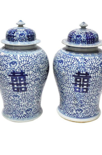 Blue & White Jars