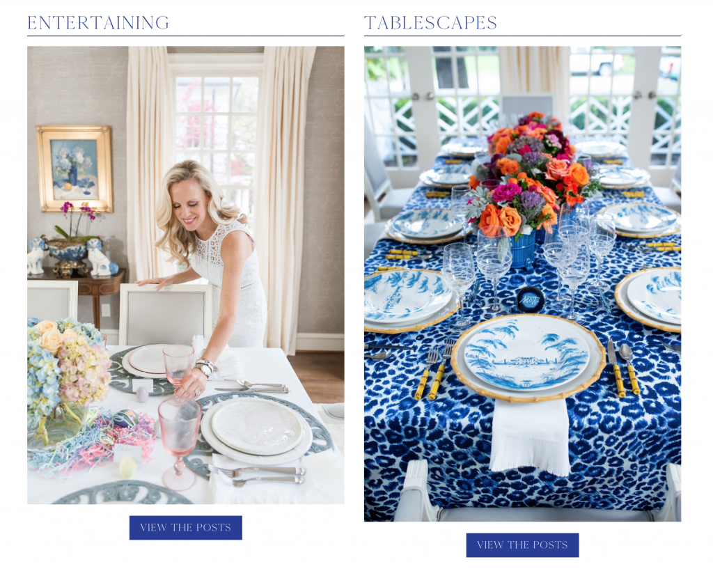 Alicia Wood Lifestyle Tablescapes and Entertaining