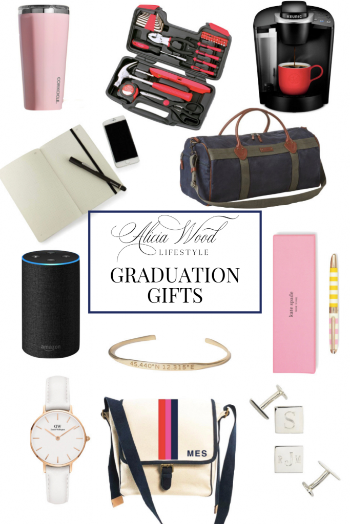Graduation Gifts, Fashion & Lifestyle Blogger, Alicia Wood of Alicia Wood Lifestyle Sharing gifts for the grad for 2019