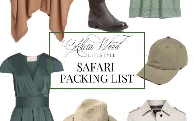 Wanderlust Wednesday: South African Safari Packing List