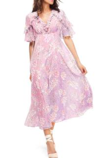 Gal Meets Glam Ruffle Dress