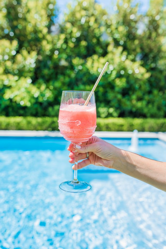 Summer Cocktails, Raspberry Frosé