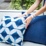Pottery Barn Ikat Pillows