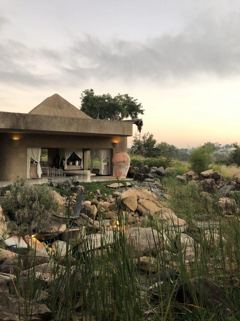 Sabi Sabi Earth Lodge, sunrise at Sabi Sabi Earth Lodge
