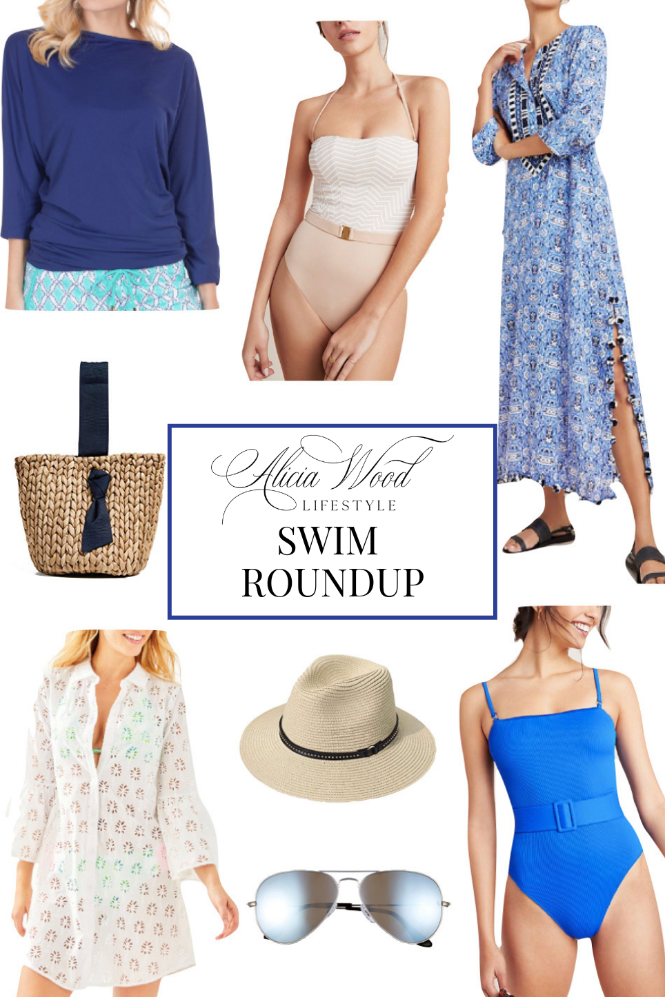 Stylish Swimwear For Summer | Coverups, Swimsuits And More!