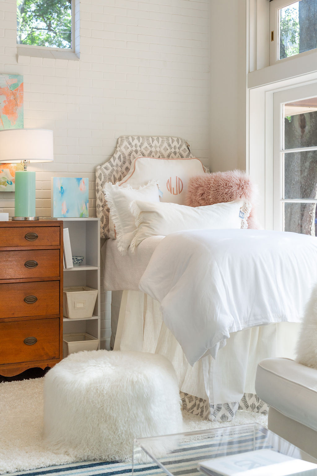 Creating a Beautiful Dorm Room with Not Just Dorms
