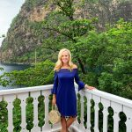 Cabana Life Off the shoulder dress, St. Lucia, Sugar Beach, Viceroy Sugar Beach, Alicia Wood, Dallas Travel Blogger