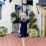 Alicia Wood, Dallas Lifestyle Expert, Dallas Fashion Blogger, Draper James Sheer Yoke A Line Dress, Highland Park Village