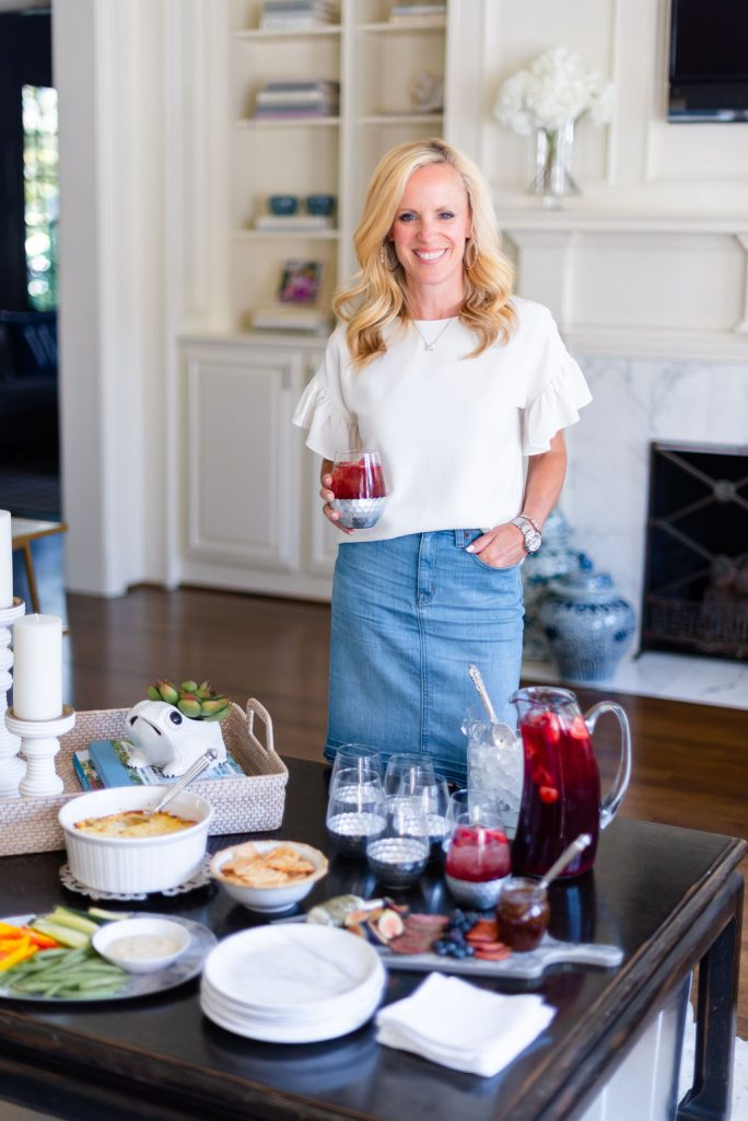 Easy Cocktail Party Ideas, Alicia Wood, Dallas Lifestyle Expert, Dallas Fashion Blogger,