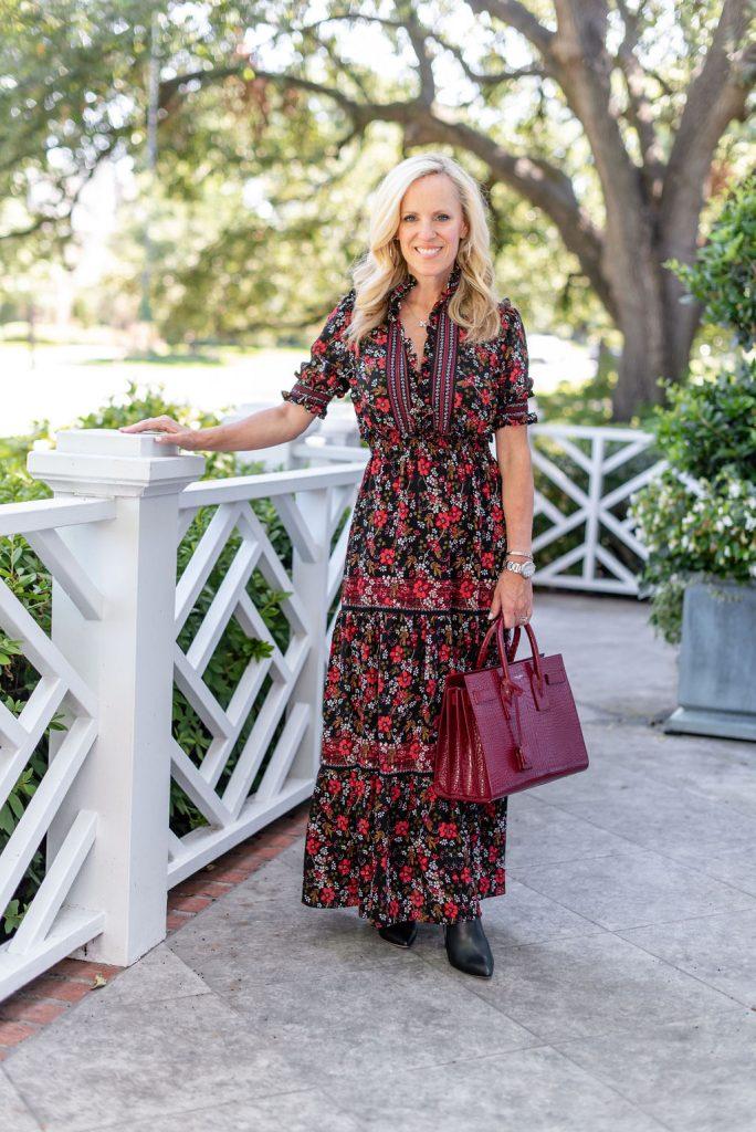 Alicia Wood, Dallas Lifestyle Expert, Dallas Fashion Blogger, Moody Florals, Fall Trends,