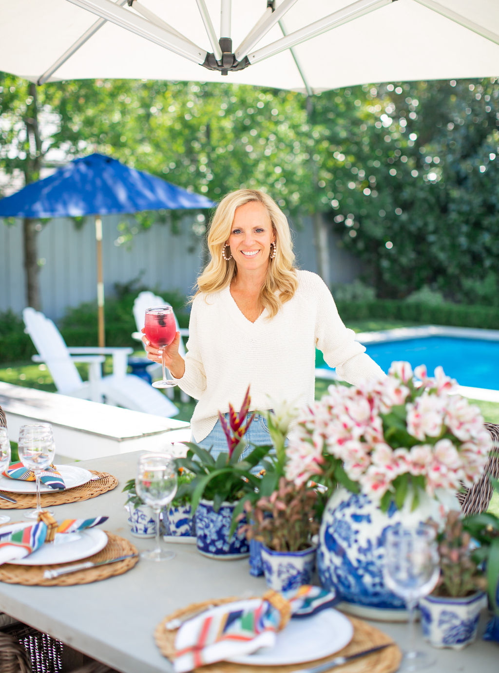 Alicia Wood, Fall Outdoor Tablescape, Alicia Wood, Dallas Lifestyle Expert, Dallas Fashion Blogger, Dallas Hostess