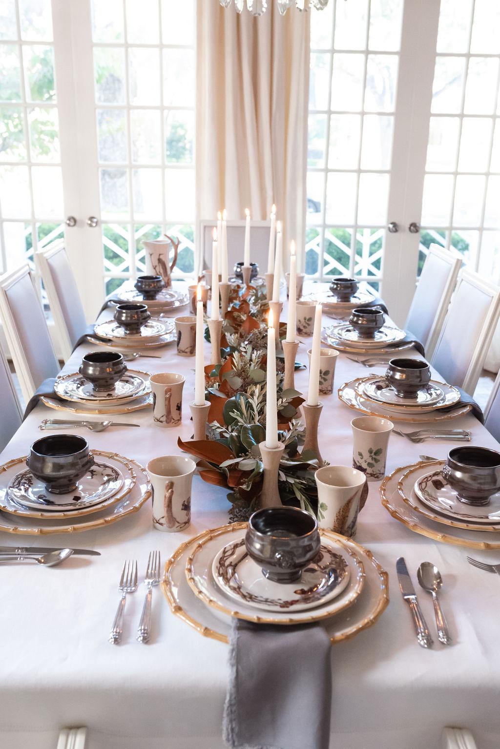 Woodland Thanksgiving Table, Juliska Forest Walk, Alicia Wood, Dallas Lifestyle Expert, Dallas Fashion Blogger, Dallas Hostess