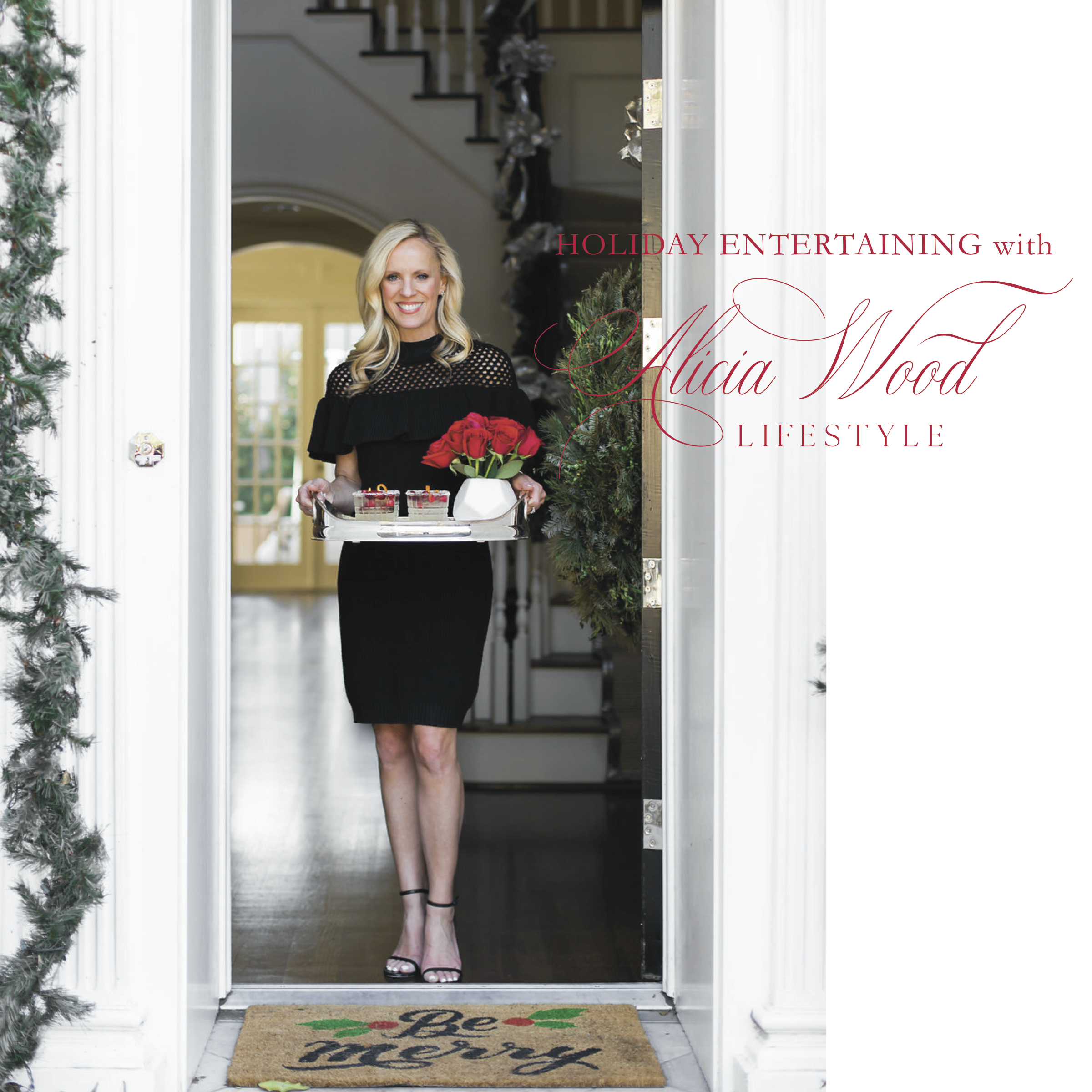 Alicia Wood, Dallas Lifestyle Expert, Free Holiday Entertaining eBook,