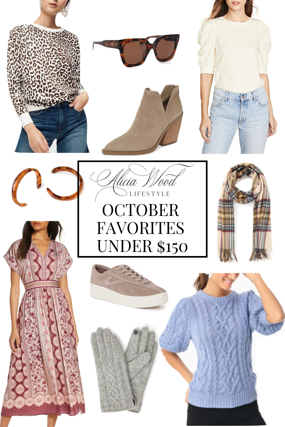 October Favorites Under $150