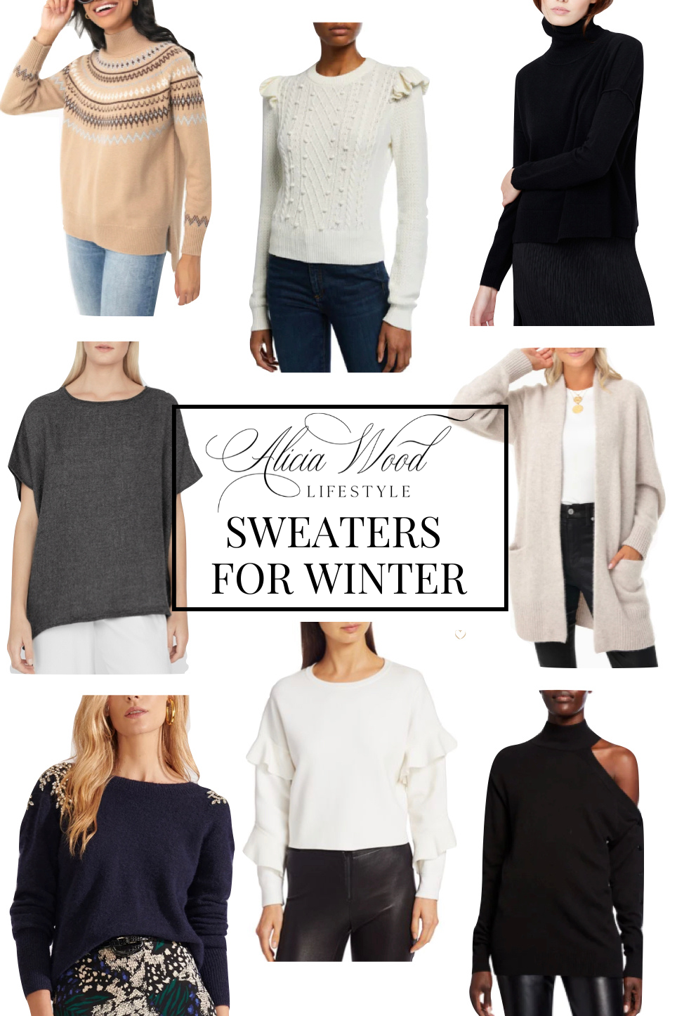 21 Sweaters For Winter