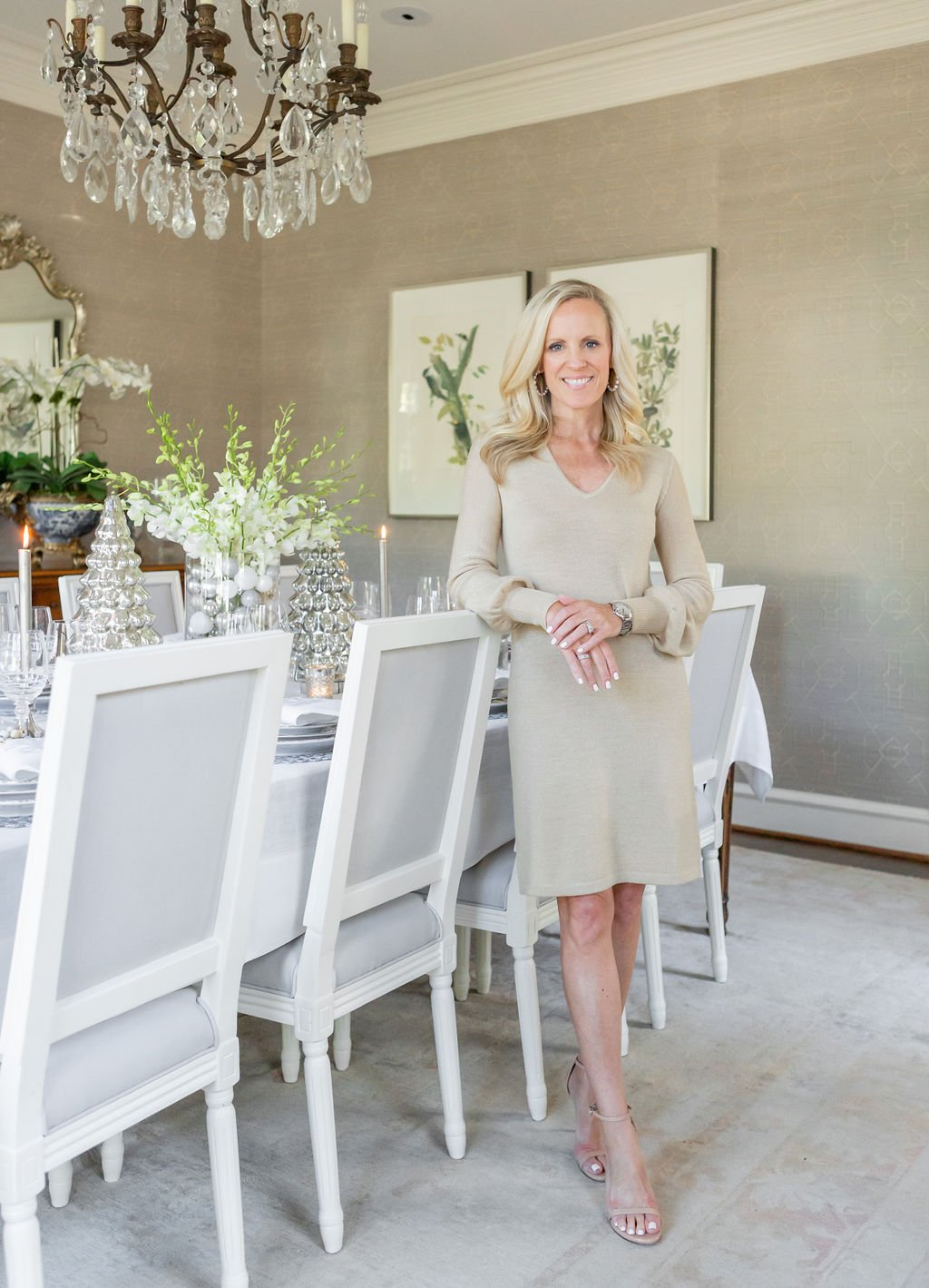 Alicia Wood, Dallas Lifestyle Expert, Dallas Fashion blogger, Dallas Lifestyle Blog, Lilly Pulitzer Gold dress