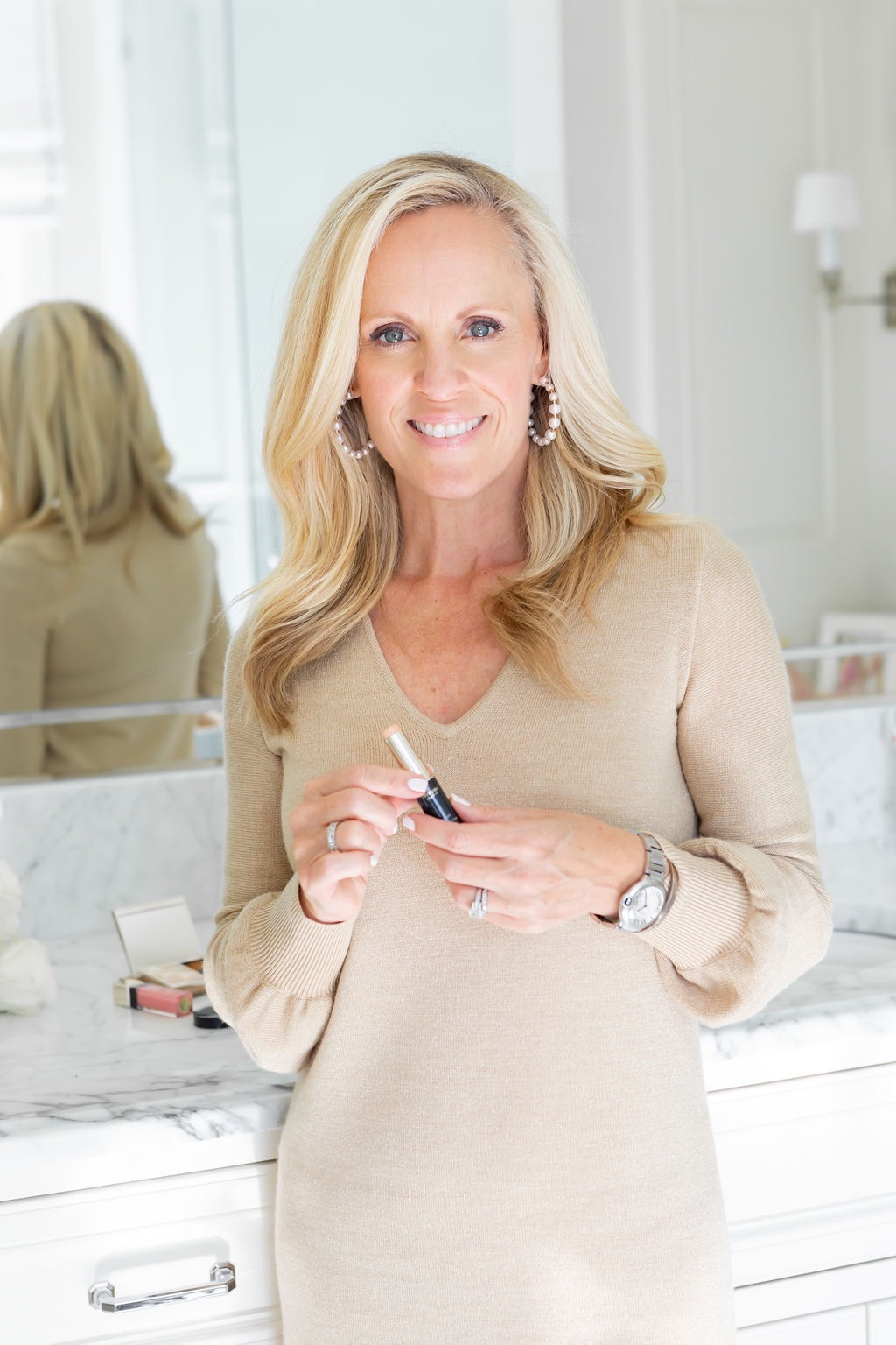 Cle de Peau Concealer Review, Dress, Alicia Wood, Dallas Lifestyle Expert, Dallas Fashion blogger, Dallas Lifestyle Blog,