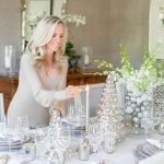 Alicia Wood, Dallas Lifestyle Expert, Dallas Fashion blogger, Dallas Lifestyle Blog, Elegant Christmas Tablescape