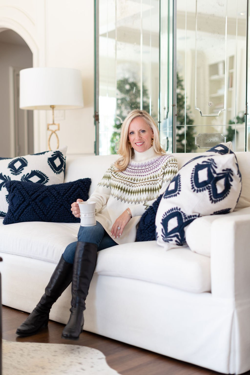 Alicia Wood, Dallas Lifestyle Expert, Dallas Fashion Blogger, Fairisle Sweater, How to Slow Down, New Year's Goals