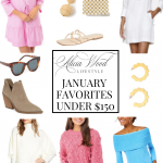 Transition To Spring - January Favorites Under $150 2020