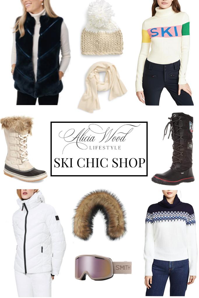 chic ski clothes