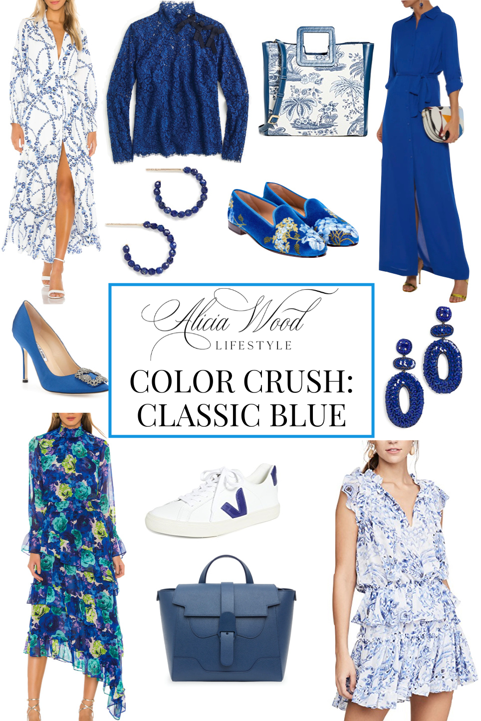 Color Crush: Color of the Year – Classic Blue