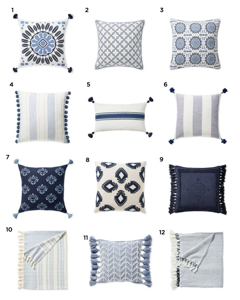 pictures of different pillows