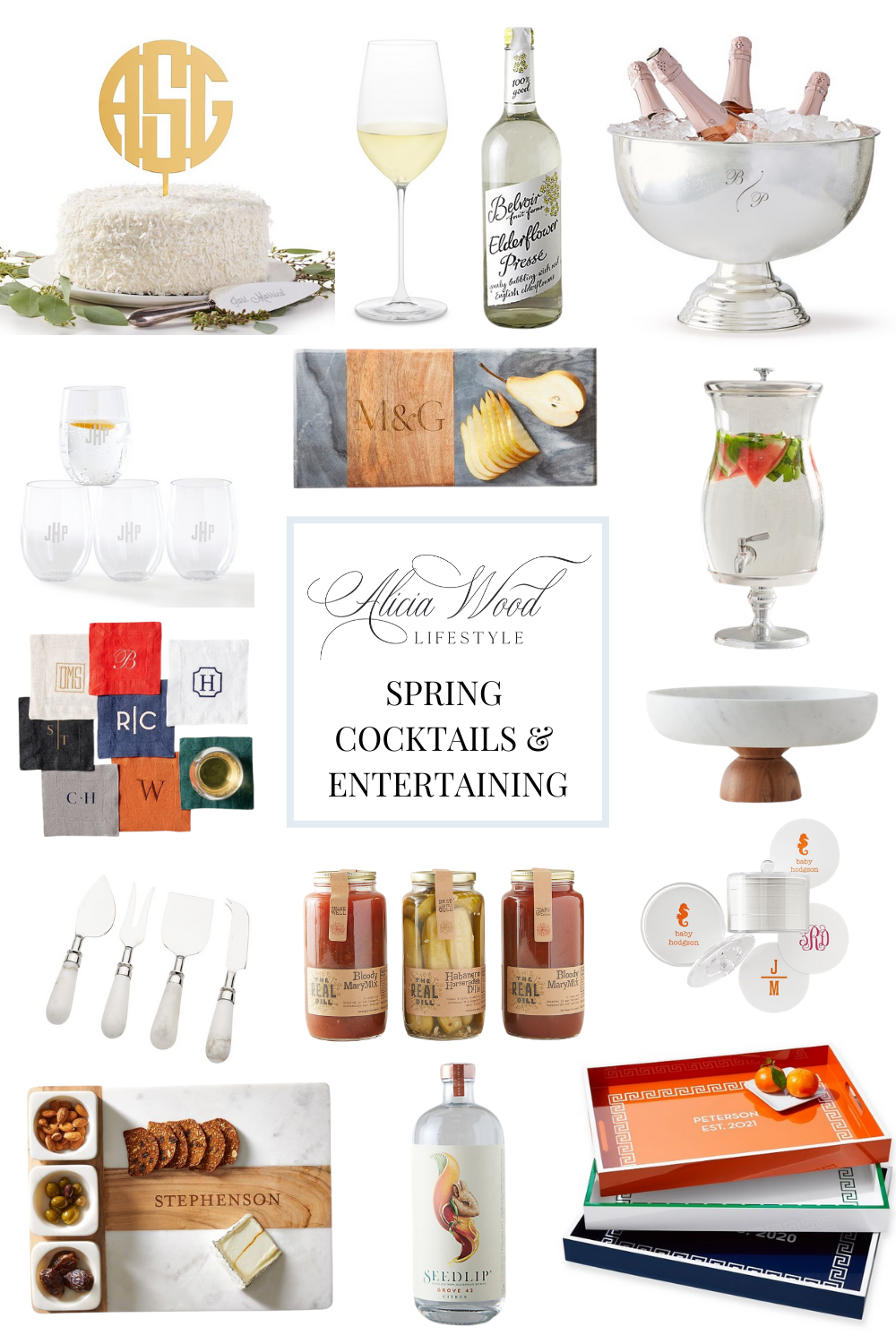 Spring Cocktails and Entertaining