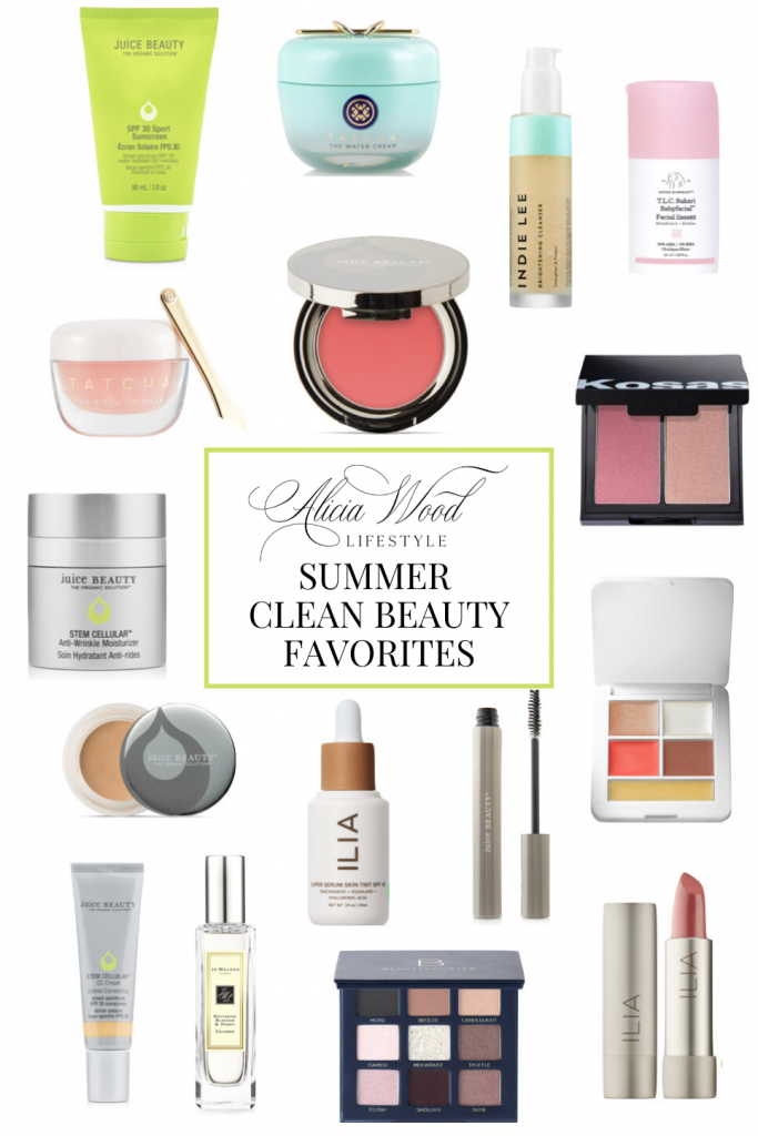 AWL Summer Clean Beauty Favorites