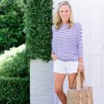 Alicia Wood Lifestyle-Color Crush: Blue & White Stripes