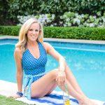 Alicia Wood x Cabana Life Aruba Blues One Piece Swimsuit