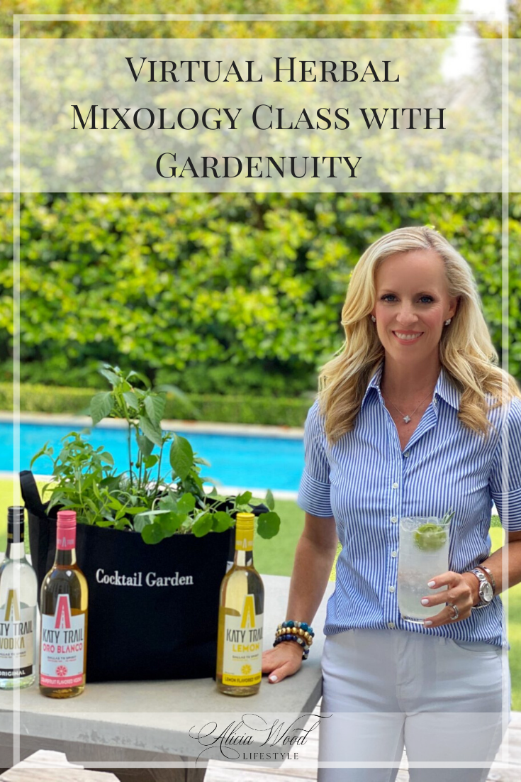 Virtual Herbal Mixology Class with Gardenuity