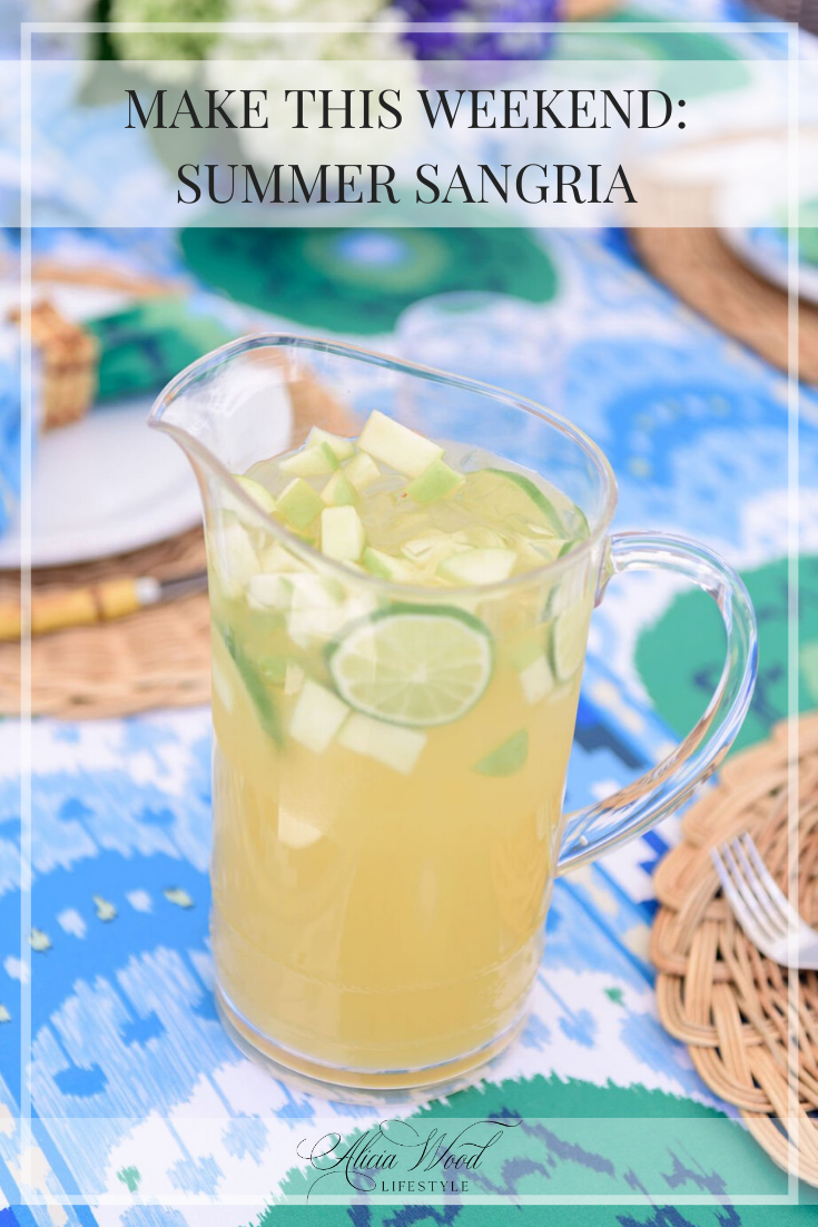 Make This Weekend: Summer Sangria