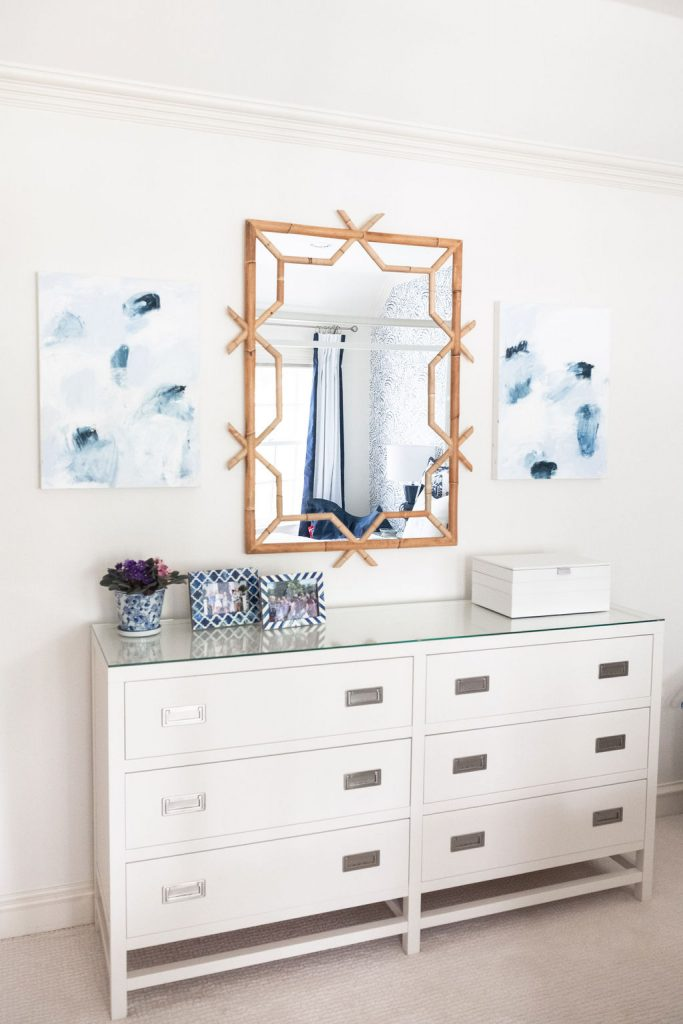 Serena and Lily Lanai Mirror, Serena and Lily Accessories, Jenn Thatcher Art
