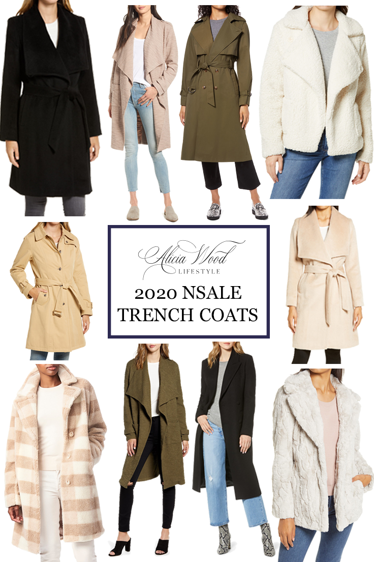Trench Coats from the Nordstrom Anniversary Sale